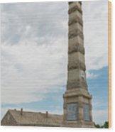 Fort Ridgely Memorial 1 Wood Print