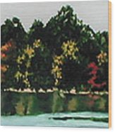 Fort Toulouse Coosa River Wood Print