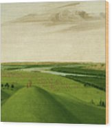 Fort Union, Mouth Of The Yellowstone River, 2000 Miles Above St. Wood Print