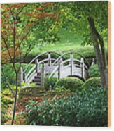 Fort Worth Botanic Garden Wood Print