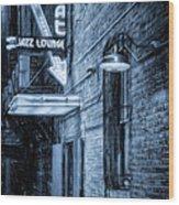 Fort Worth Impressions Scat Lounge Bw Wood Print