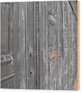 Fortress Doors Wood Print