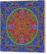 Fortune Mandala Wood Print