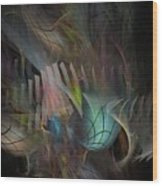 Fortune Willing - Fractal Art Wood Print