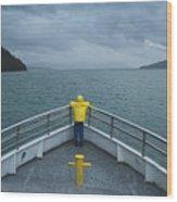 Forward Lookout Wood Print