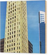 Foshay Tower From The Street Wood Print