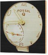 Fossil Q 7 Wood Print