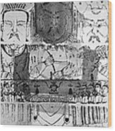 Founders Of Chinese Medicine, 5000�4500 Wood Print