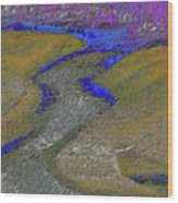 Fountain Creek Wood Print