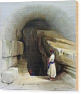 Fountain Of Siloam Valley Of Jehosophat 1842 Wood Print