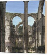 Fountains Abbey 4 Wood Print