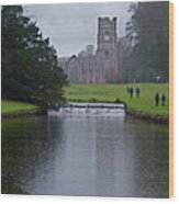 Fountains Abbey 5 Wood Print