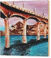 Four Bears Bridge Wood Print