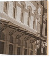 Four Corners In New Orleans Wood Print