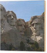 Four Former U S Presidents Wood Print