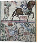 Four Horsemen Wood Print