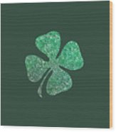 Four Leaf Clover Wood Print