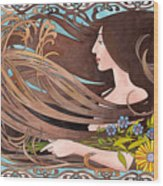 Four Seasons Summer Wood Print