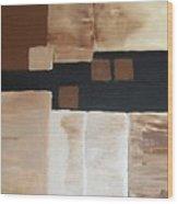 Four Square Wood Print by Marsha Heiken