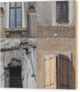 Four Windows Wood Print