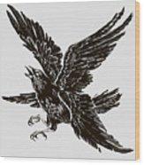 Four Wings Wood Print