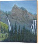 Fourmile Falls And Fall Creek Falls Wood Print