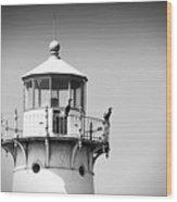Fourteen Foot Shoal Lighthouse Wood Print