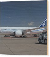 Fourth Boeing 787 Prototype Mesa Gateway Arizona Wood Print