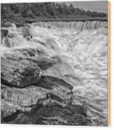 Fourth Chute Falls Wood Print