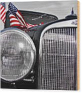 Fourth Of July-chevvy  Wood Print