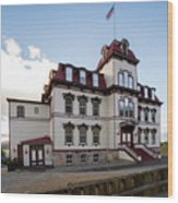 Fourth Ward School Virginia City Nevada Wood Print