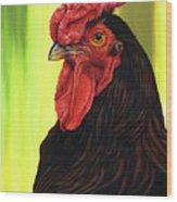 Fowl Emperor Wood Print