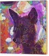 Fox Animal Tuscany  Wood Print