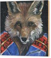 Fox Medicine Wood Print