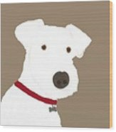 Fox Terrier Wood Print
