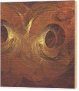 Fractal  020 Wood Print