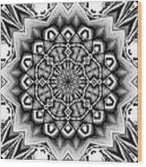 Fractal 12 Wood Print