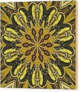 Fractal 14 Wood Print