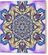 Fractal 5 Wood Print