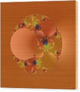 Fractal 99 Wood Print