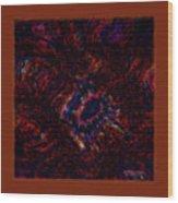 Fractal Centrifuge Wood Print
