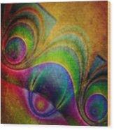 Fractal Design -a5- Wood Print