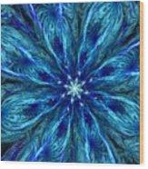 Fractal Flora 062610 Wood Print