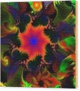 Fractal Garden 15 Wood Print