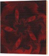Fractal Garden 18 Wood Print