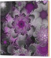 Fractal Garden 4 Wood Print