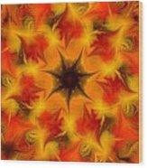Fractal Garden 6 Wood Print