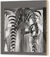 Fractal Offset Wood Print
