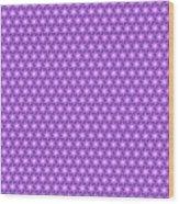 Fractal Pattern 300 Wood Print