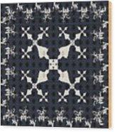 Fractal Patterns Wood Print